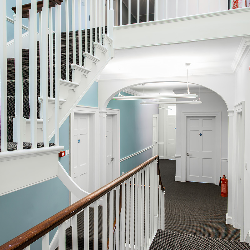 Halcyon Offices, Huntingdon, Castle Hill House, Stairs