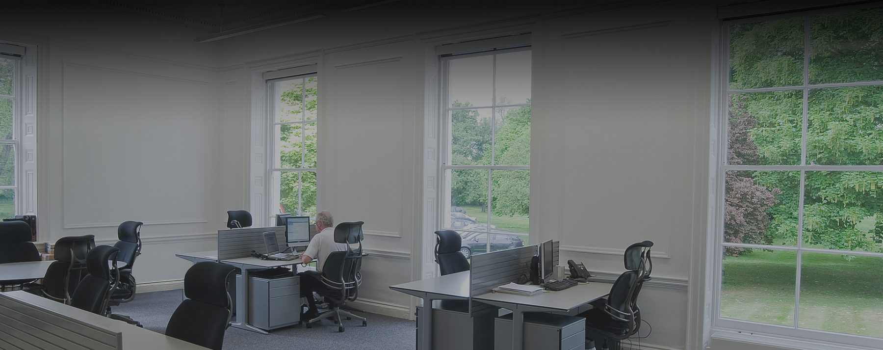Halcyon Offices, Leatherhead, Thorncroft Manor, 360 degree green views, Serviced & Virtual Office Services