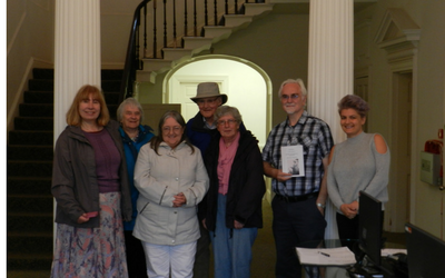 HF Holidays group Photo in Reception at Thorncroft Manor