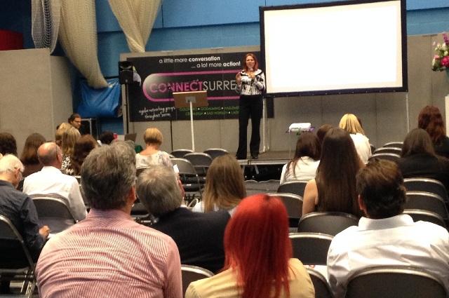 seminar at Surrey Business Expo