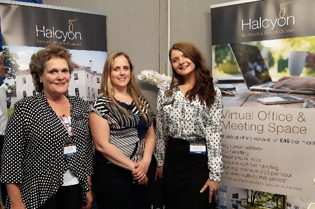 Halcyon Offices at Surrey Business Expo