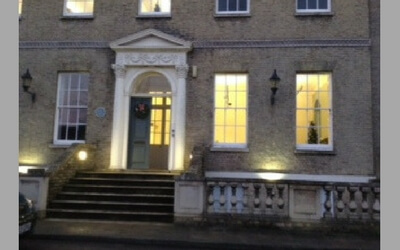Beautiful Castle Hill House ready for Christmas
