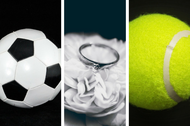 Big events Wimbledon World Cup Weddings